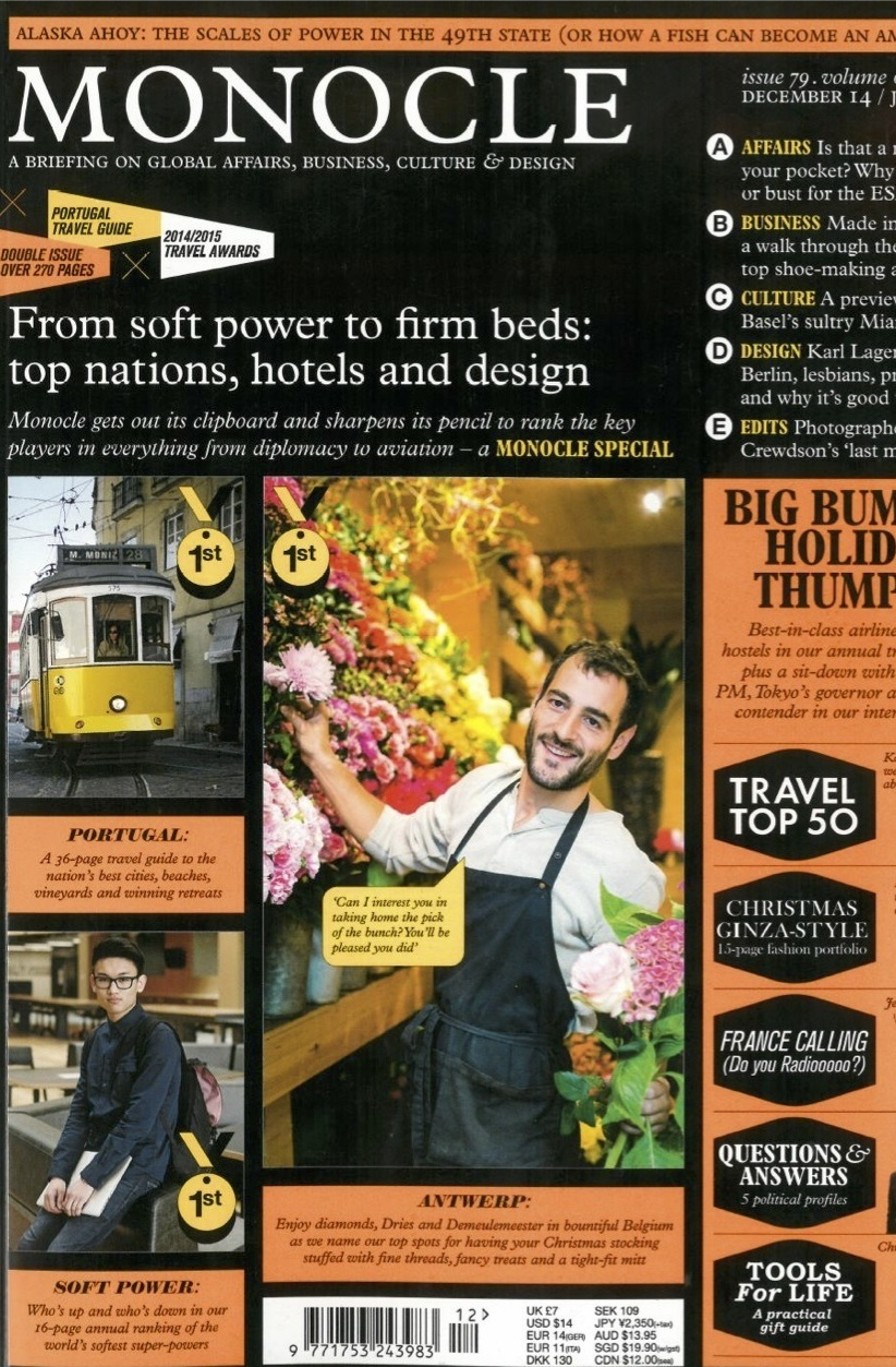 Palace Hotel Tokyo feature - Monocle – UK – COVER