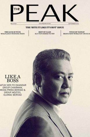 2016.09 – The Peak – Malaysia – COVER