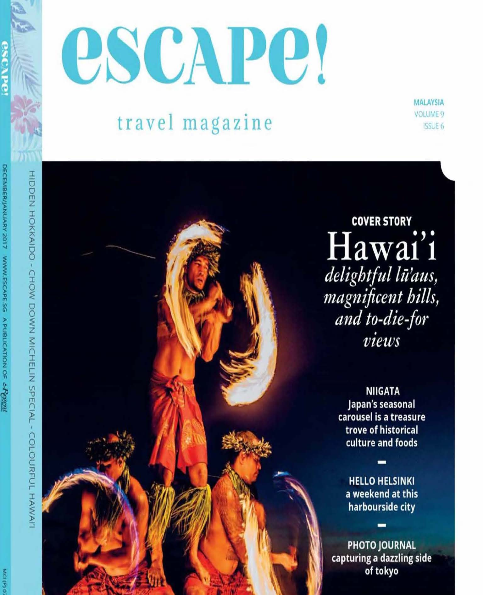 Escape! – Malaysia – COVER