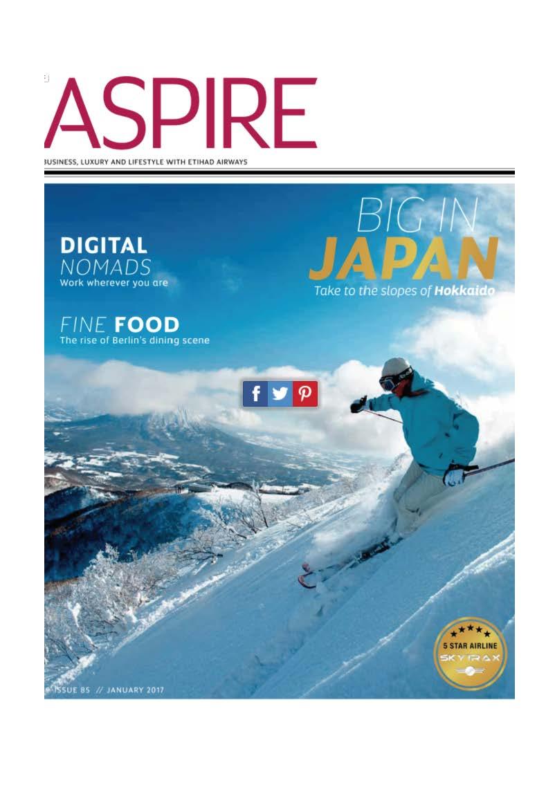 Aspire – Etihad Airways – COVER
