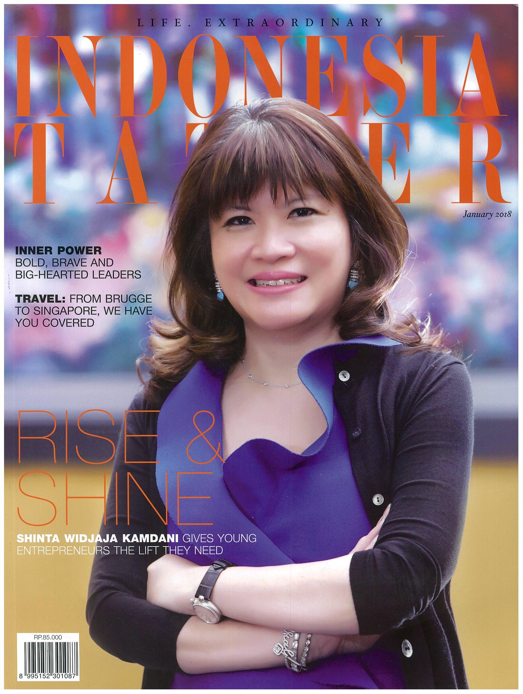 2018.01 Indonesia Tatler COVER