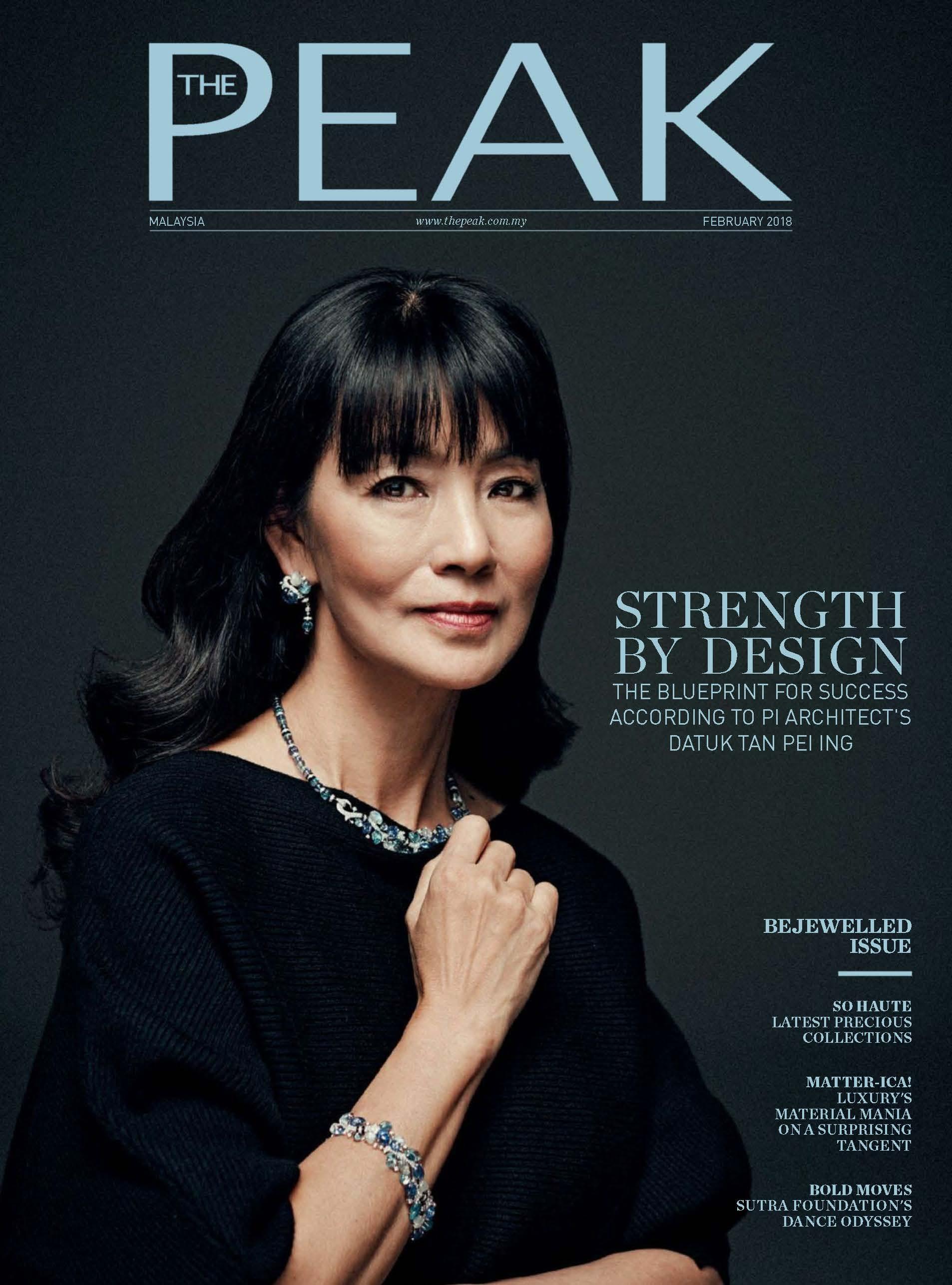 2018.02 The Peak Malaysia COVER