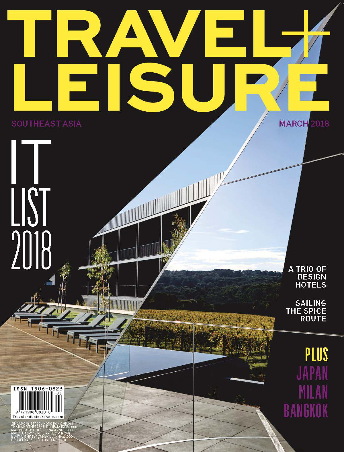 2018.03 TravelLeisure Southeast Asia COVER