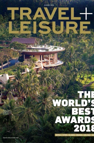 2018.08 TravelLeisure USA Worlds Best COVER