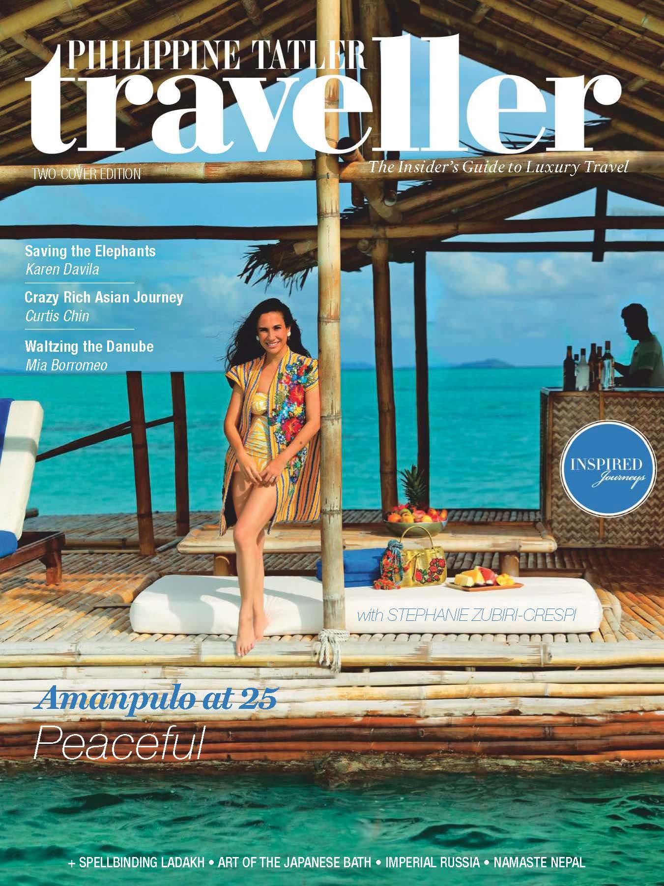 2018.12 Philippine Tatler Traveller COVER