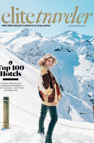2019.01 02 Elite Traveler USA Top 100 Hotels in the World COVER