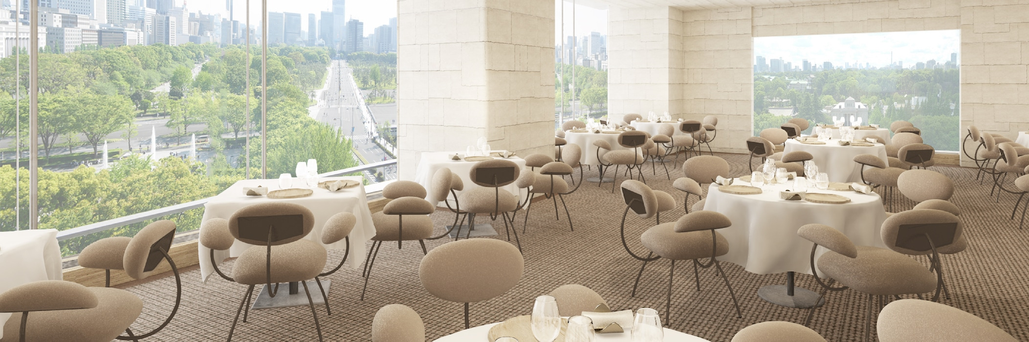 ESTERRE by Alain Ducasse at Palace Hotel Tokyo RENDERING FS2