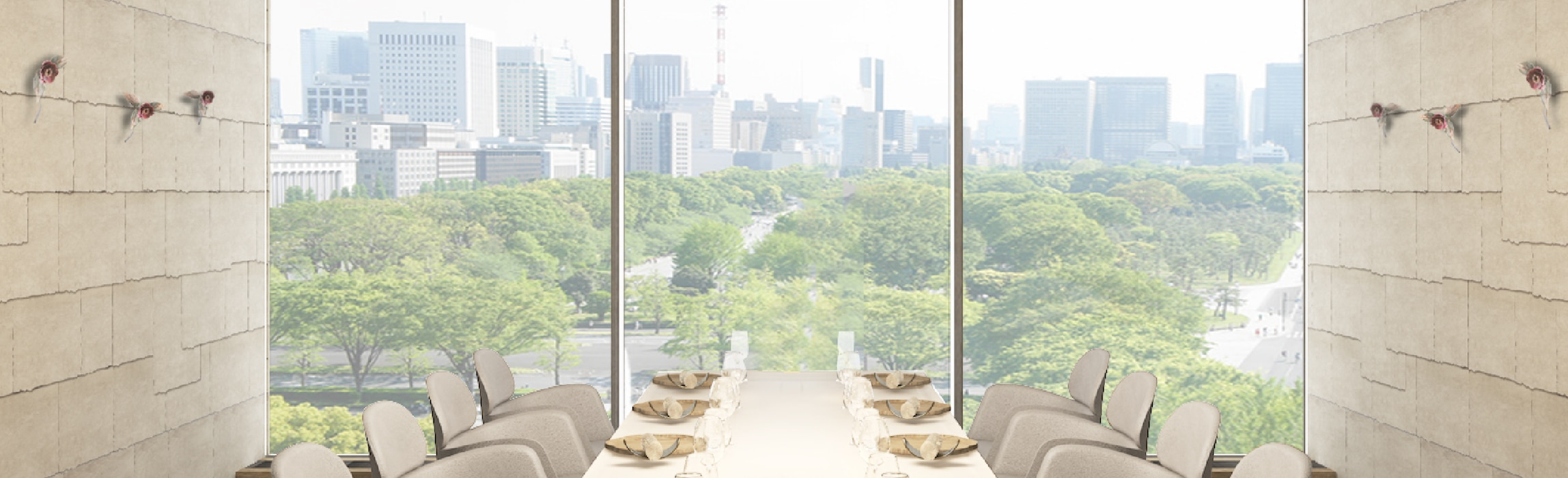 ESTERRE by Alain Ducasse at Palace Hotel Tokyo RENDERING II FS2
