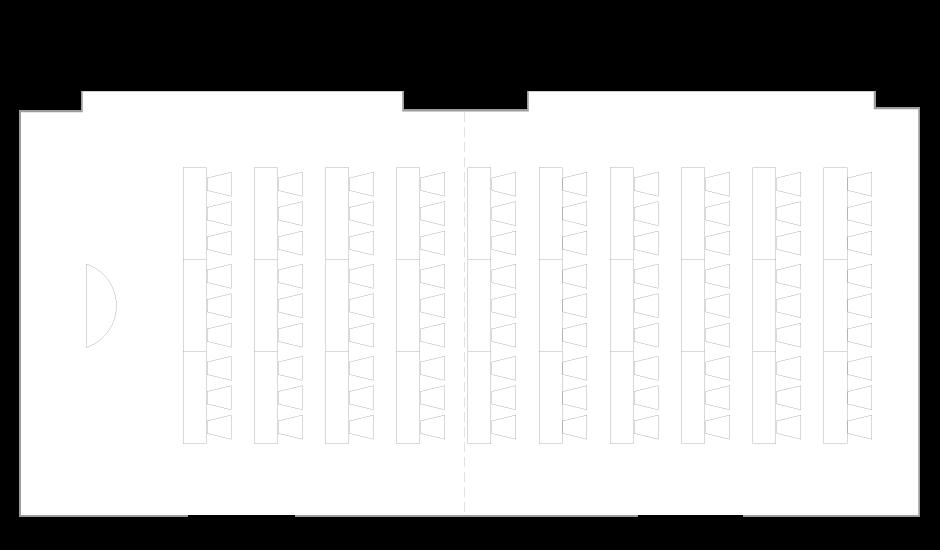 Palace Hotel Tokyo - Fuyo - Floor Plan Classroom