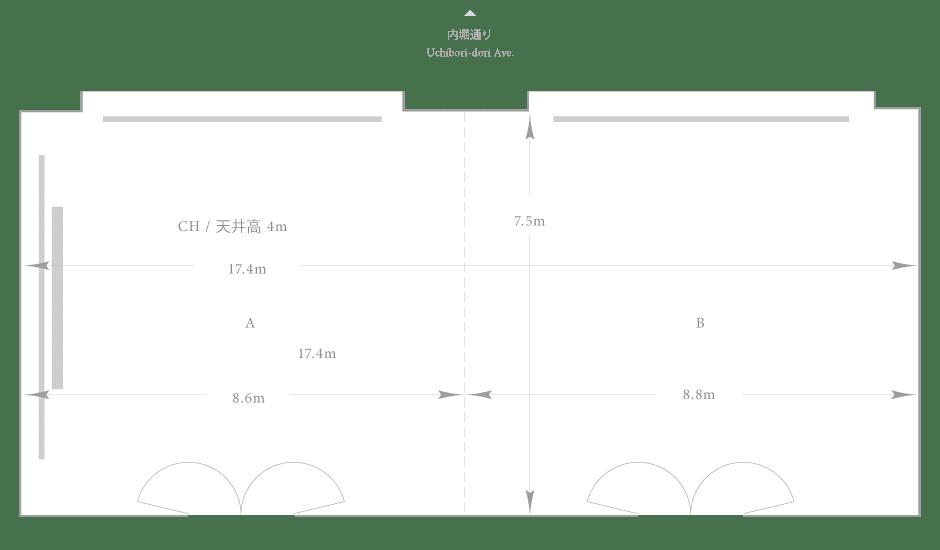 Palace Hotel Tokyo - Fuyo - Floor Plan
