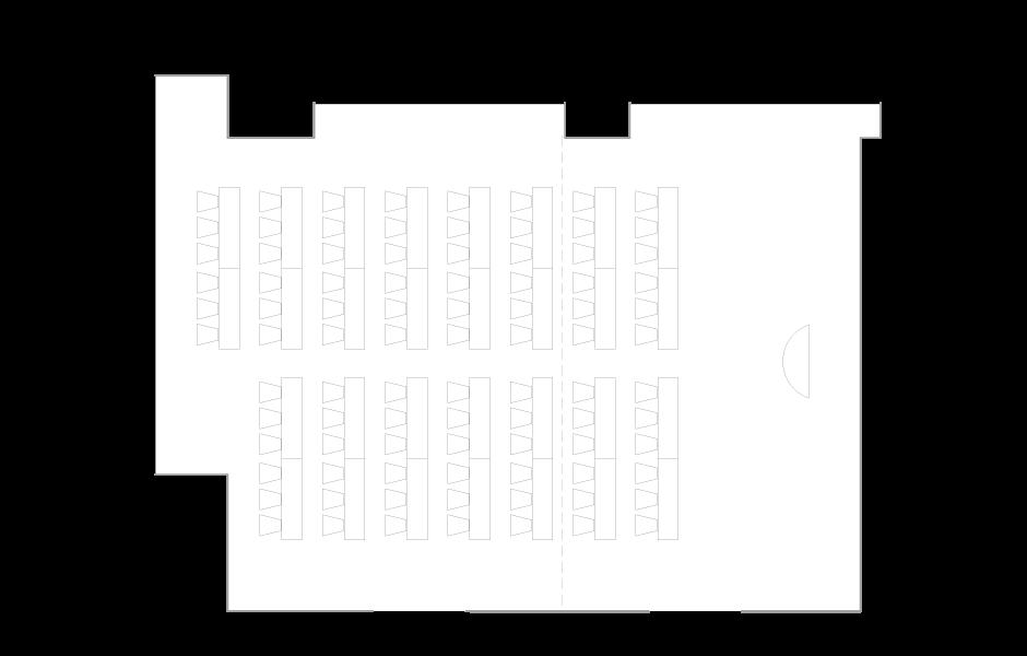 Palace Hotel Tokyo - Hagi - Floor Plan Classroom