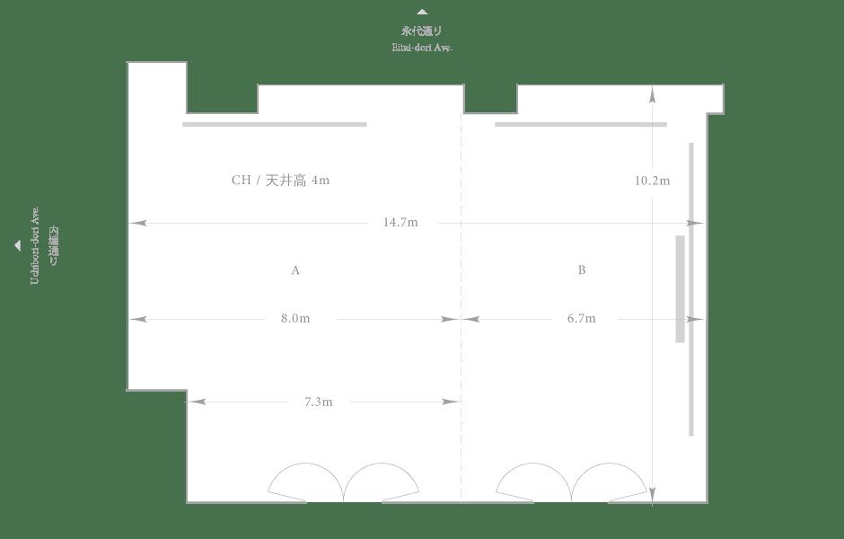 Palace Hotel Tokyo - Hagi - Floor Plan