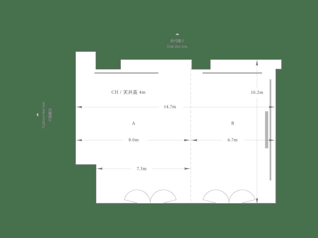 Hagi | Main | Floorplan | Palace Hotel Tokyo
