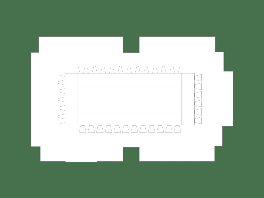 Kikyo | Hollow | Floorplan | Palace Hotel Tokyo