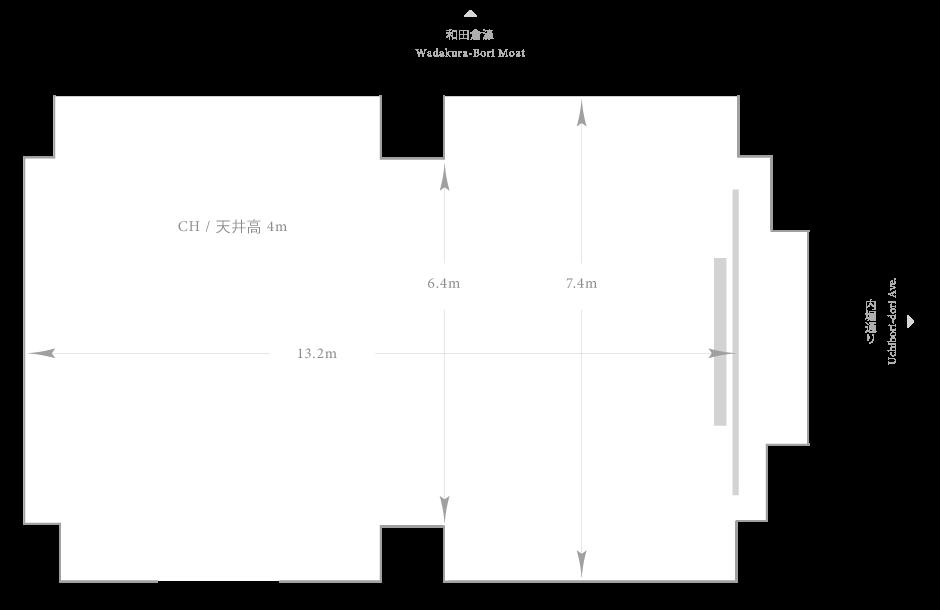 Palace Hotel Tokyo - Kikyo - Floor Plan