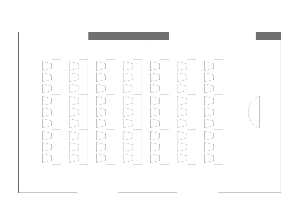 Nadeshiko | Classroom | Floorplan | Palace Hotel Tokyo