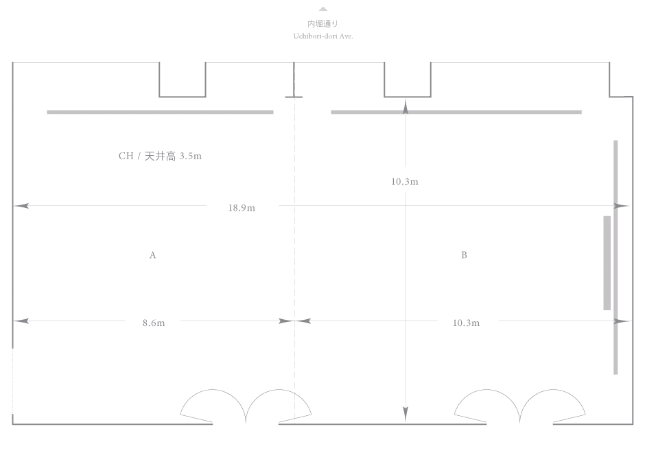 Palace Hotel Tokyo - Ume - Floor Plan