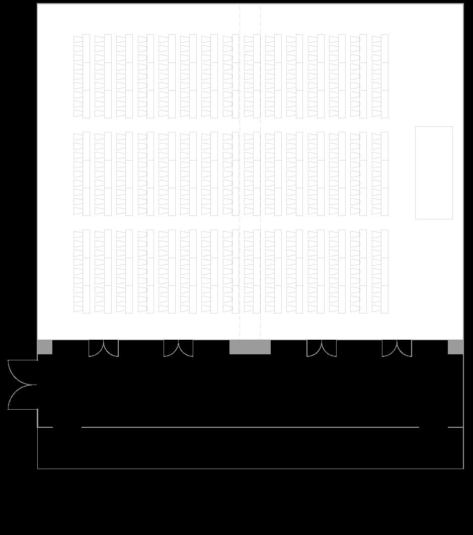 Palace Hotel Tokyo - Yamabuki - Floor Plan Classroom