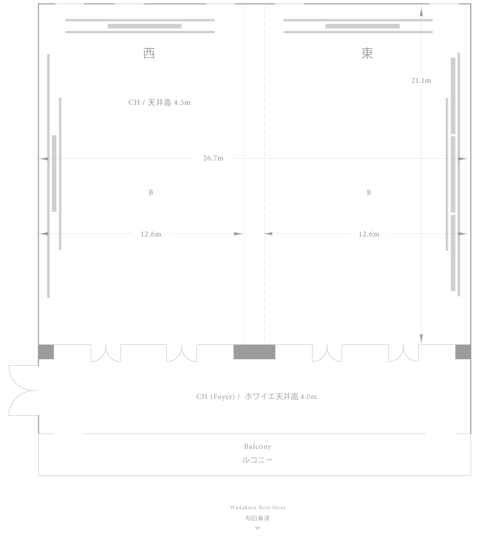 Palace Hotel Tokyo - Yamabuki - Floor Plan
