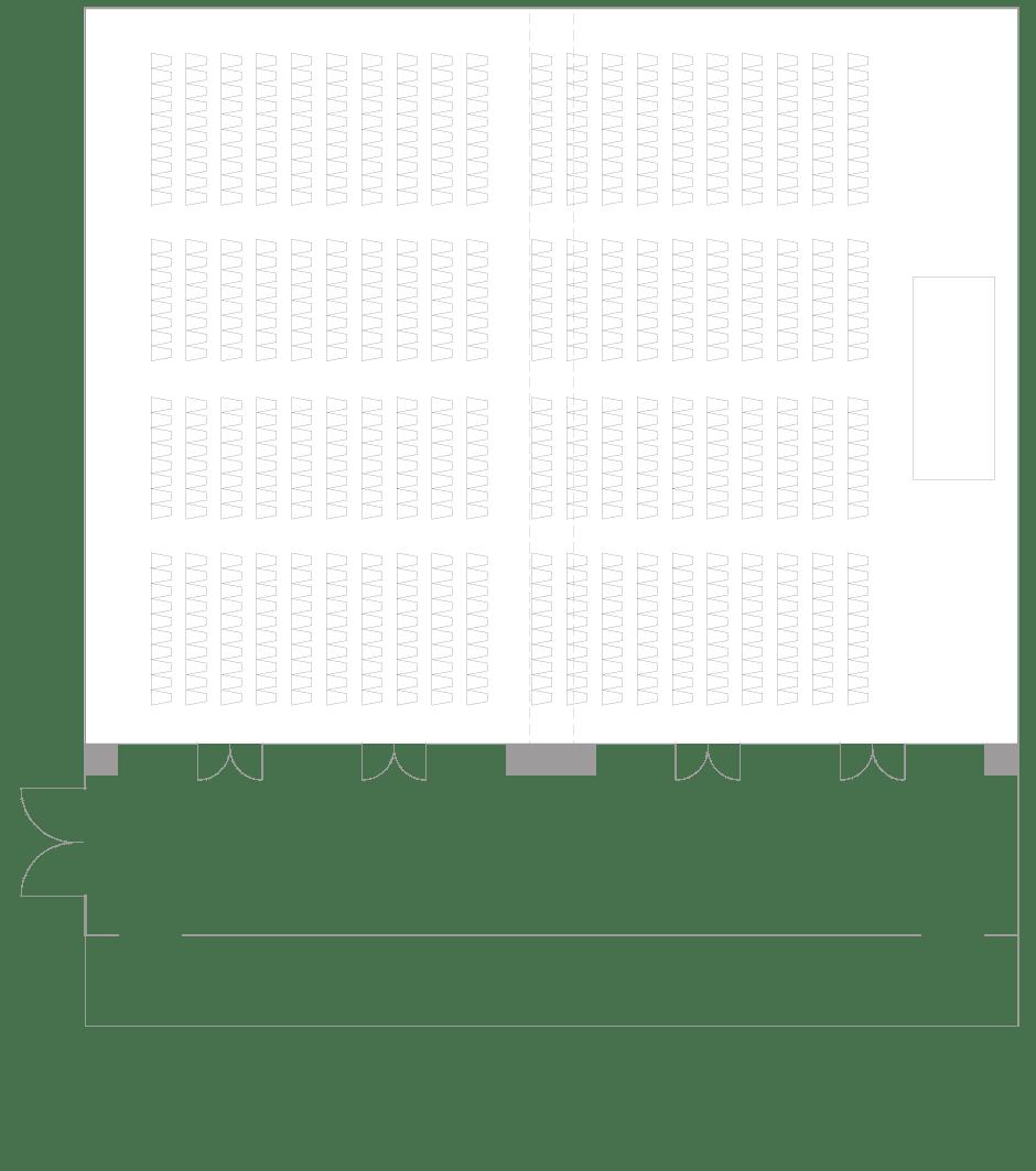 Palace Hotel Tokyo - Yamabuki - Floor Plan Theatre