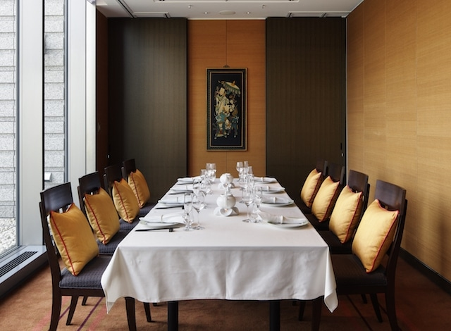 Michelin Starred Restaurants Tokyo - Amber Palace – Private Dining Room