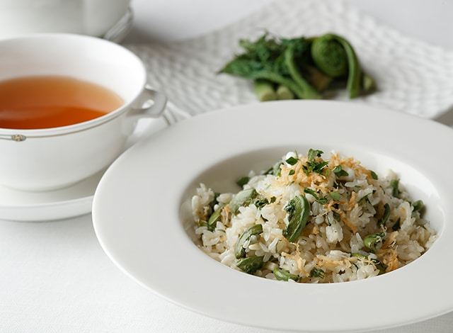 Palace Hotel Tokyo Amber Palace Spring 2020 Fried Rice Mountain Vegetables H2