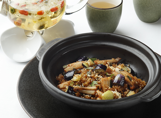 Palace Hotel Tokyo Amber Palace Summer 2021 Saltwater Eel and Eggplant Fried Rice H2