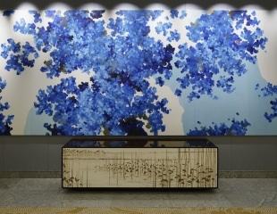Palace Hotel Tokyo Art Collection Shikisai No Shita by Satoshi Uchiumi F2