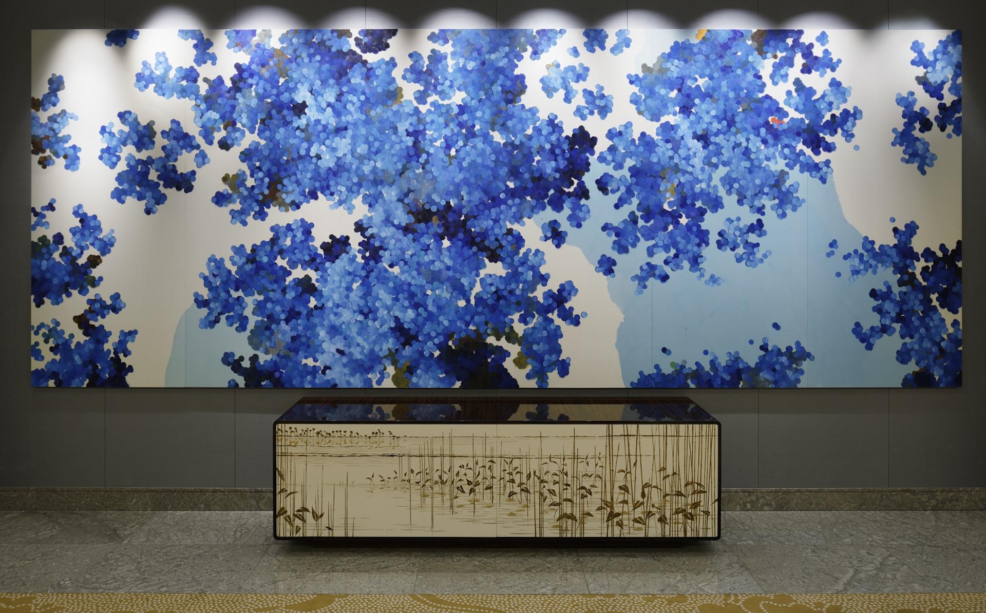 Palace Hotel Tokyo Art Collection – Shikisai No Shita by Satoshi Uchiumi – F2