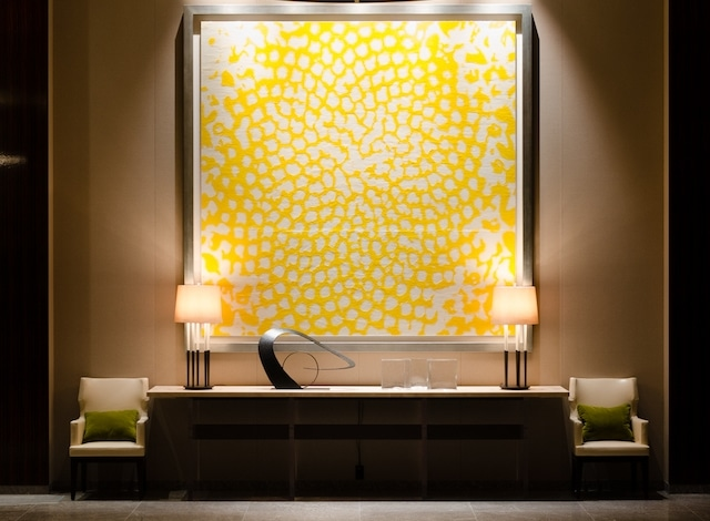 Palace Hotel Tokyo Art Collection – Sunflower by Masahito Katayama – H2