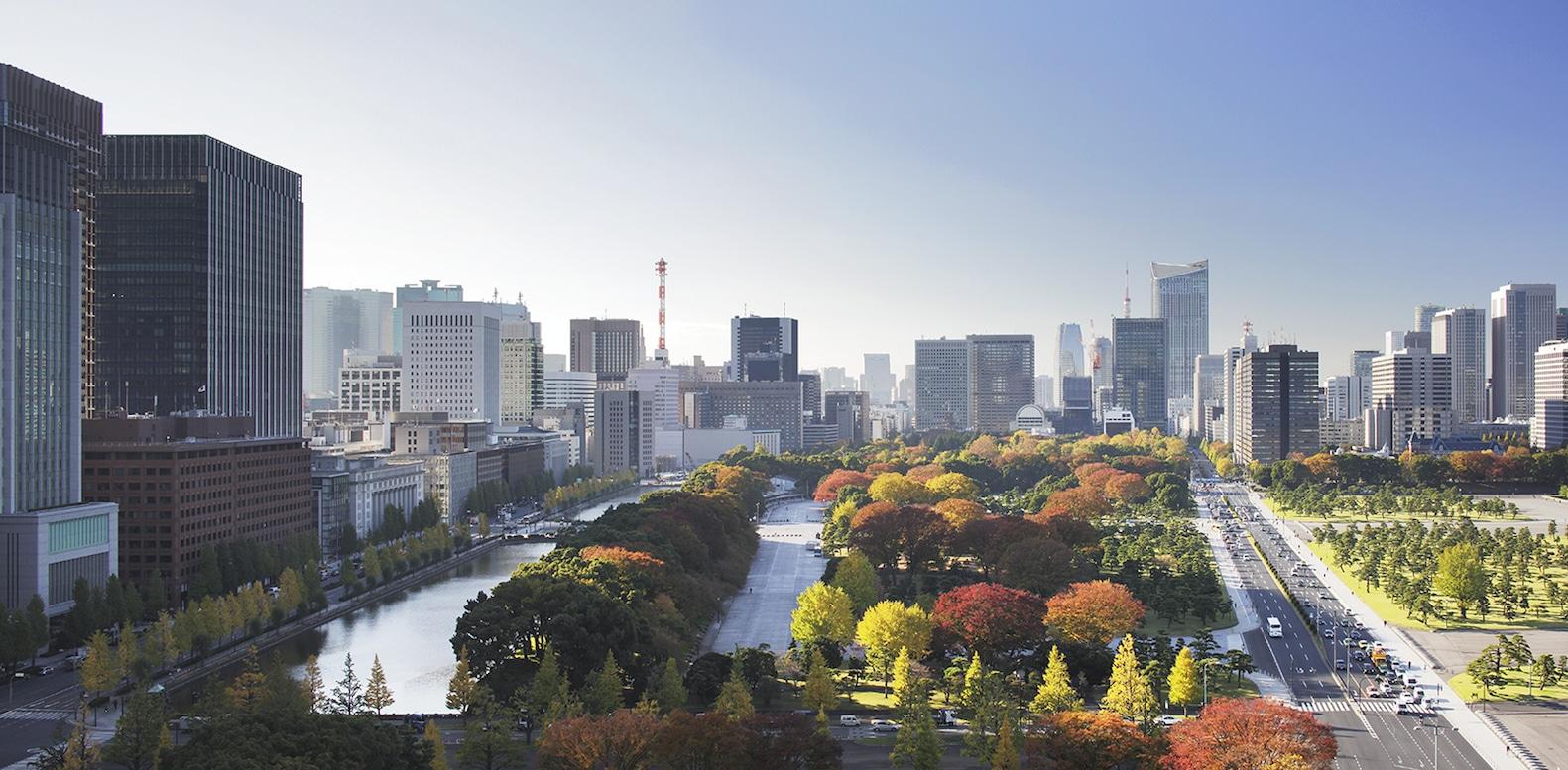 Palace Hotel Tokyo – Autumn Views | Luxury Marunouchi Hotel