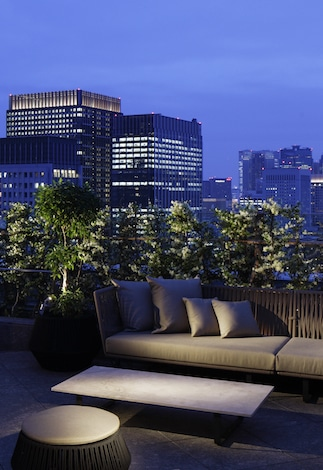 Palace Hotel Tokyo – Club Lounge Terrace – T2