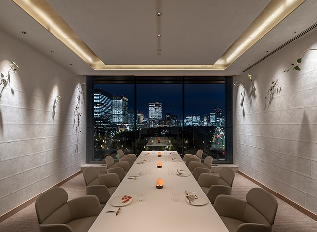 Palace Hotel Tokyo Esterre Private Dining I H2