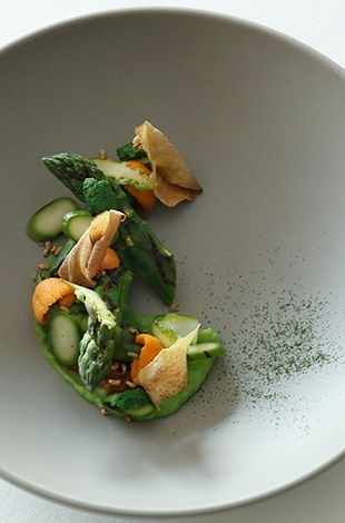 Palace Hotel Tokyo Esterre Spring 2020 Fermented Green Asparagus T2