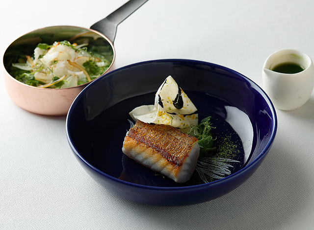 Palace Hotel Tokyo Esterre Spring2021 Hata fish from Mie H2