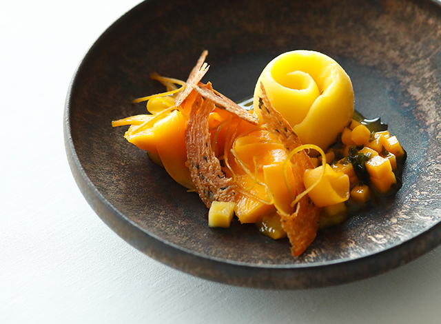 Palace Hotel Tokyo Esterre Summer 2020 Mango with Wakame H2