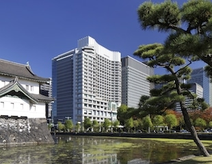 Palace Hotel Tokyo Exterior with Tatsumi Watchtower – II – HT2