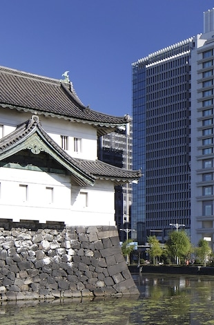 Palace Hotel Tokyo Exterior with Tatsumi Watchtower – II – T2
