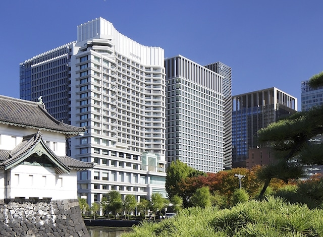 Palace Hotel Tokyo Exterior with Tatsumi Watchtower – III – H2