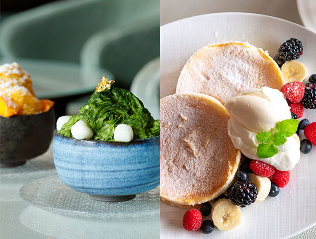 Palace Hotel Tokyo Flavors of Summer The Palace Lounge Summer 2021 Shaved Ice Pancake H2