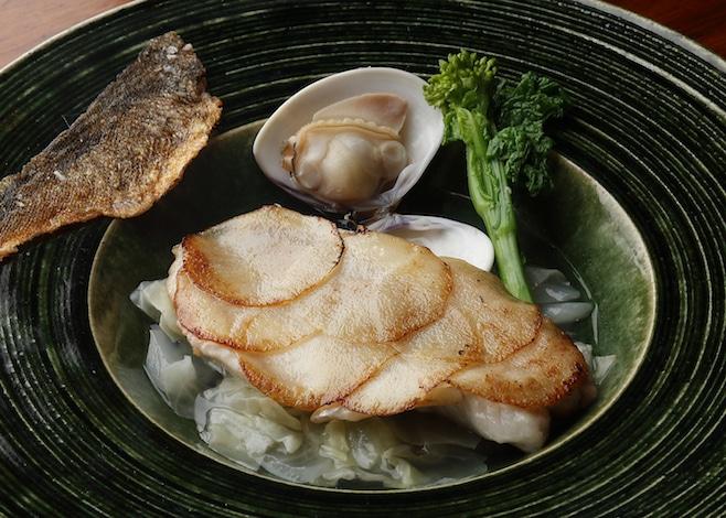Palace Hotel Tokyo GOs Spring 2019 Fish Potato Clam Soup H2