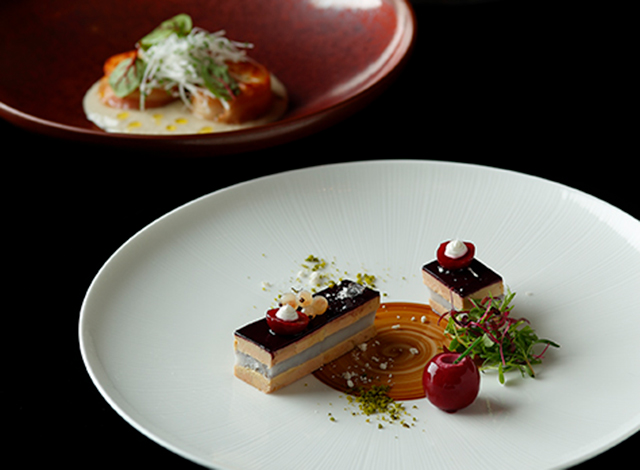 Palace Hotel Tokyo Grand Kitchen Christmas 2020 course H2