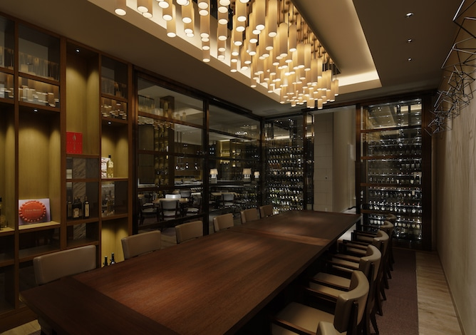 Palace Hotel Tokyo - Grand Kitchen Tokyo - Private Room - H2