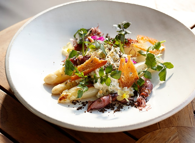 Palace Hotel Tokyo Grand Kitchen Spring 2020 Sauteed White Asparagus H2