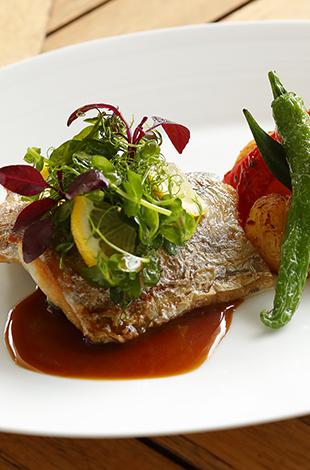 Palace Hotel Tokyo Grand Kitchen Summer 2021 Pan seared Cutlass Fish T2