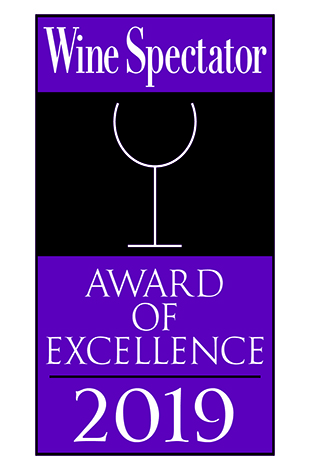 Palace Hotel Tokyo Grand Kitchen Wine Spectator Award of Excellence 2019 Logo T2