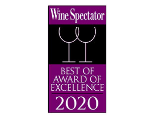 Palace Hotel Tokyo Grand Kitchen Wine Spectator Award of Excellence 2020 Logo II HT2