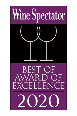Palace Hotel Tokyo Grand Kitchen Wine Spectator Award of Excellence 2020 Logo T2