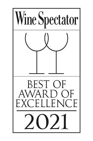 Palace Hotel Tokyo Grand Kitchen Wine Spectator Award of Excellence 2021 Logo T2