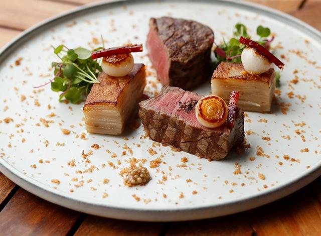 Palace Hotel Tokyo Grand Kitchen Winter 2020 Japanese beef tenderloin H2